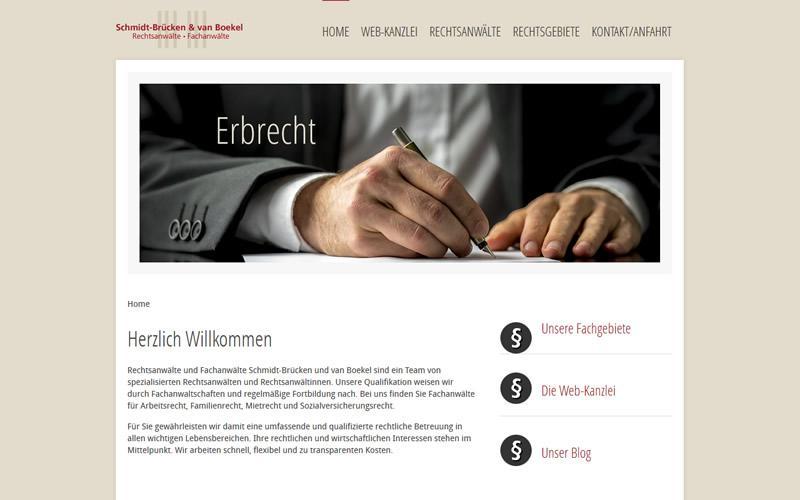 Kanzlei Schmidt-Brücken & van Boekel - Darmstadt