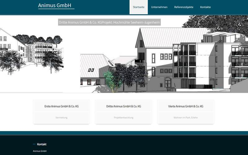 Architekten Webdesign