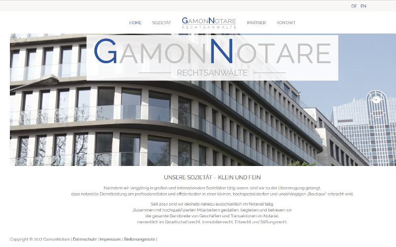 Gamon Webdesign